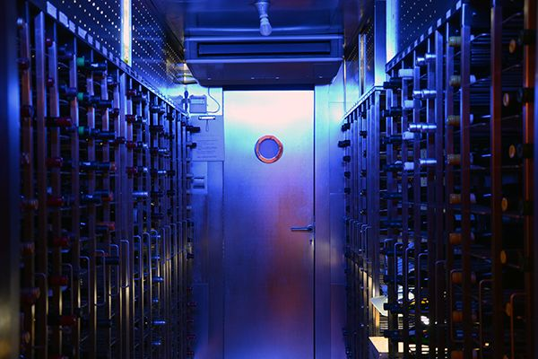 Urepel Restaurant - Wine cellar