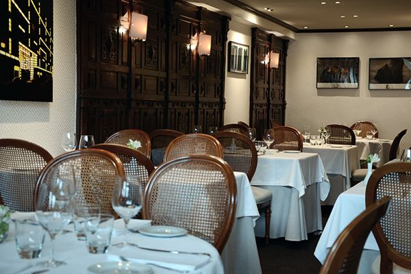 Urepel Restaurant - Main dining room