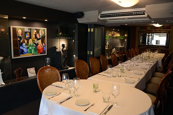 Urepel Restaurant - Upper dining room